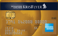 Maybank Singapore Airlines KrisFlyer American Express Gold Credit Card