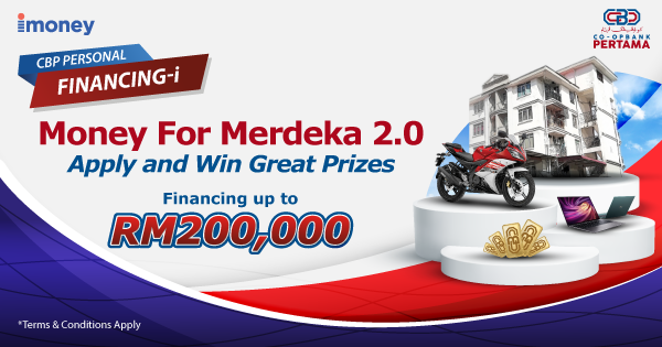 Finance your goals: Win up to RM161,500 worth of prizes!