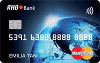 RHB World Mastercard Credit Card
