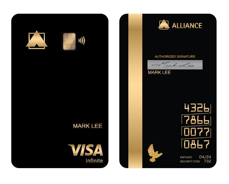 Alliance Bank Visa Infinite Credit Card