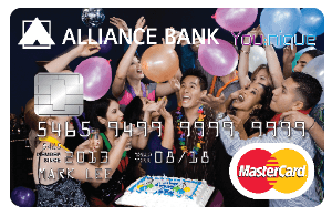 Alliance Bank You:nique Card - Rewards