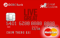 OCBC Great Eastern MasterCard