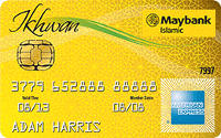 Maybank Islamic Ikhwan American Express Gold Card-i