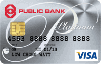 Public Bank Visa Platinum Credit Card