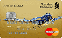 Standard Chartered Kad JustOne Gold Mastercard