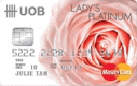 UOB Lady's Platinum Card