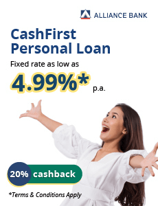 Alliance CashFirst Personal Loan